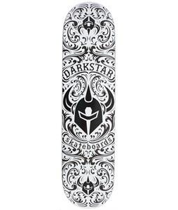 Darkstar Convolute SL Skateboard Black/White 7.9in