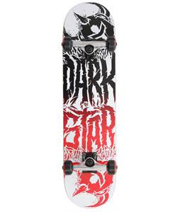 Darkstar Reverse FP Skateboard Complete White 7.8in