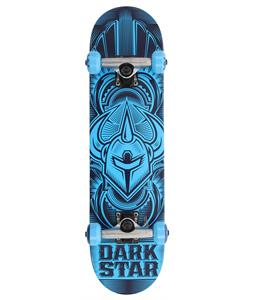Darkstar Scour Mini FP Skateboard Complete Blue 7in