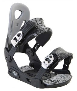 Dub Classic Snowboard Bindings Black/Grey