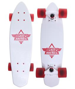 Dusters Ace Cruiser Complete White/Red 24 x 6.5in