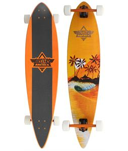 Duster Happy Hour II Longboard Complete Orange 42in