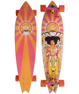Duster Hendrix Axis Bold Longboard Complete Orange/Pink 38in