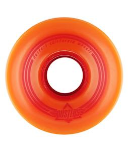Dusters OG Softie Longboard Wheels Orange/Red 62mm