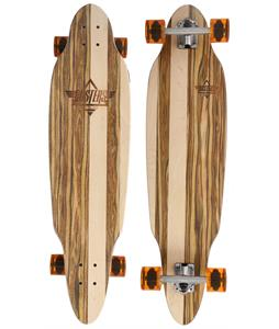 Duster Scoop Longboard Complete Brown/Applewood 37.5in