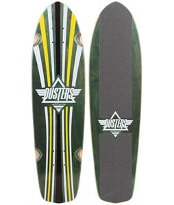 Dusters Keen Cruiser Deck Green/Yellow 31 x 8in