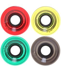 Dusters OG Softie Longboard Wheels Clear Rasta 59mm