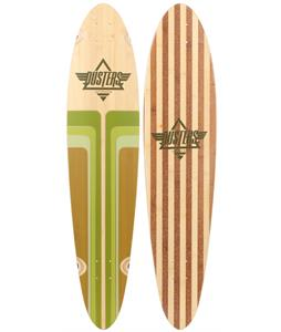 Dusters Primo Longboard Deck Bamboo/Green 40 x 9in