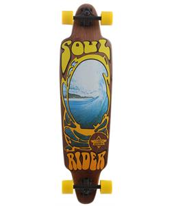 Dusters Soul Rider V2 Longboard Brown/Yellow