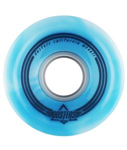 Dusters Spin Softie Longboard Wheels Blue/White 62mm