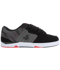 DVS Argon Shoes Black/Grey Nubuck