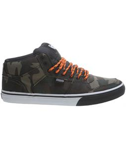 DVS Clip Skate Shoes Camo Canvas