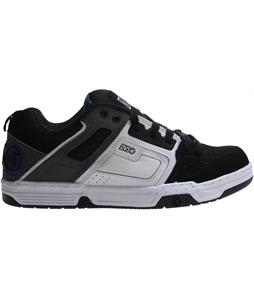 DVS Comanche Shoes Black/White Nubuck