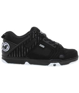 DVS Comanche Skate Shoes Black Nubuck