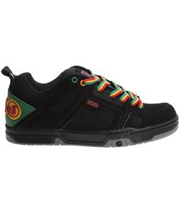 DVS Comanche Shoes Black Rasta