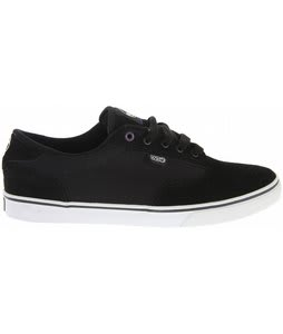 DVS Daewon 12'er Skate Shoes Black Suede