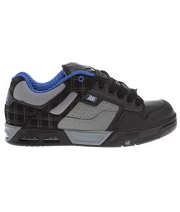 DVS Enduro Heir Skate Shoes Black/Blue Leather