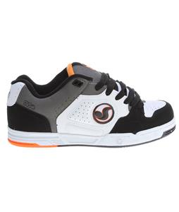 DVS Havoc Skate Shoes White/Black Nubuck