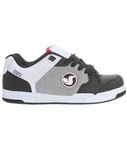 DVS Havoc Skate Shoes Black/Grey Leather