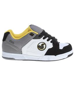 DVS Havoc Skate Shoes White/Grey Action Leather