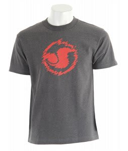 DVS Icon Seg T-Shirt Charcoal Heather