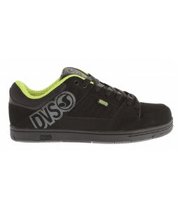 DVS Ignition Skate Shoes Black Nubuck