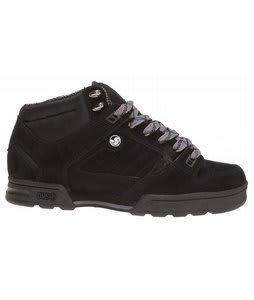DVS Militia Boot Casual Boots Black Nubuck
