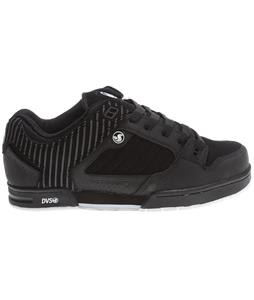 DVS Militia Shoes Black Nubuck
