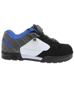 DVS Militia Snow Shoes Black/White/Grey Nubuck