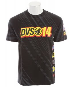 DVS One Four T-Shirt Black