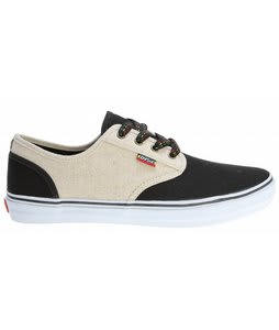 DVS Rico CT Skate Shoes Black Hemp