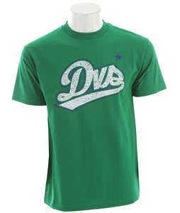 DVS Sport Raw T-Shirt Kelly Green