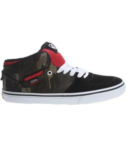 DVS Torey CT Skate Shoes Black Camo Canvas