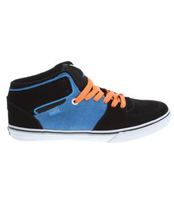 DVS Torey Skate Shoes Black/Blue Suede