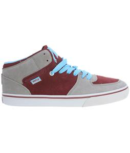 DVS Torey Skate Shoes Grey/Port Suede