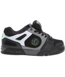 DVS Tracker Heir Skate Shoes Black/Grey Nubuck
