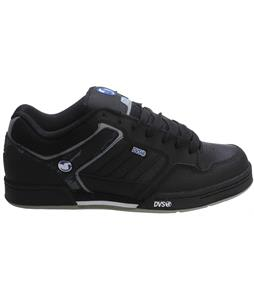 DVS Transom Skate Shoes Black H.A. Leather
