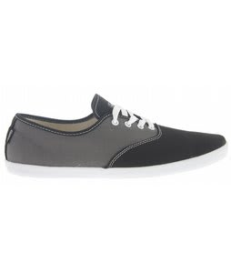 DVS Vino Shoes Grey/Black Canvas