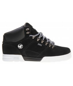 DVS Westridge MFM Snow Shoes Black Nubuck MFM