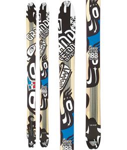Dynafit Grand Teton Skis Wood/White