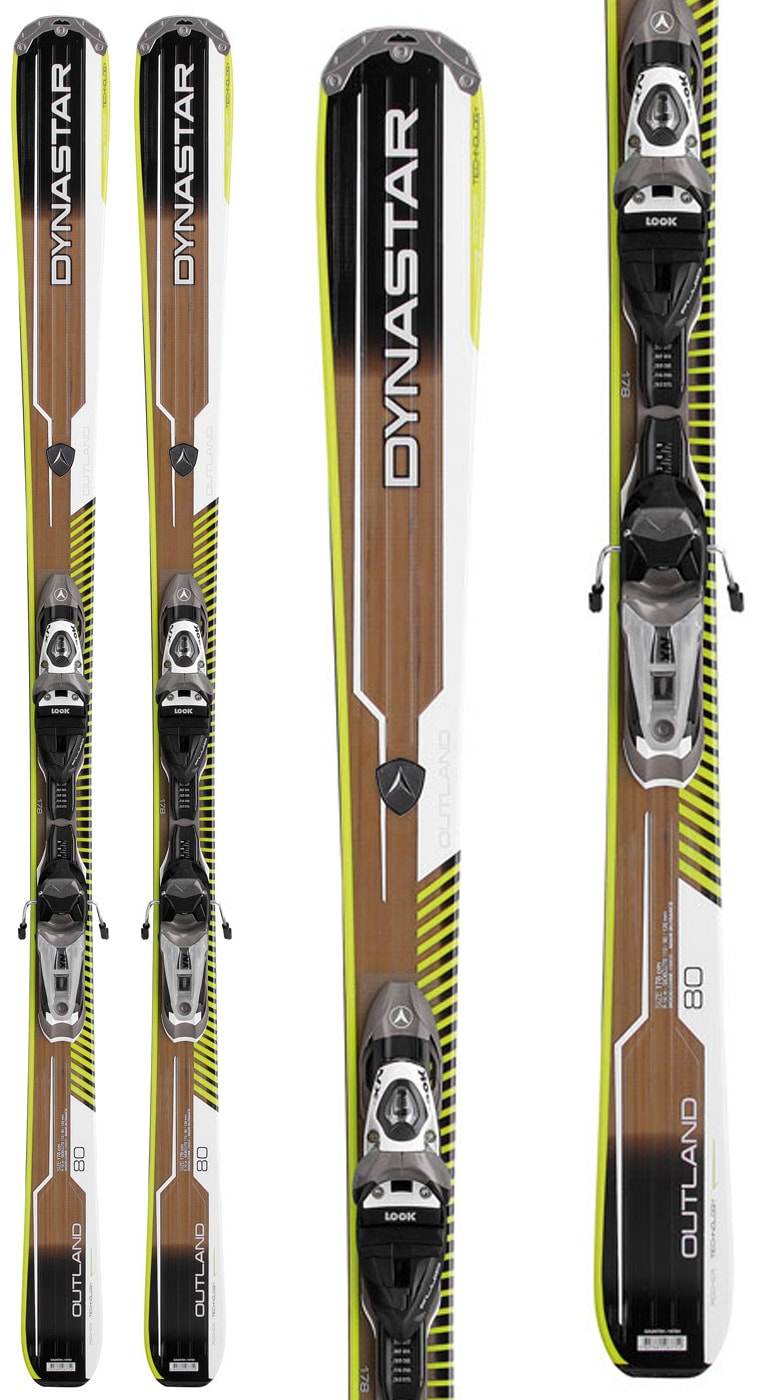 Shop for Dynastar Outland 80 XT Skis w/ Look NX 12 Bindings - Men's