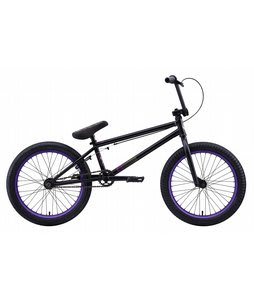 Eastern Shovelhead BMX Bike Matte Black/Purple 20