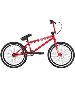 Eastern Battery BMX Bike Gloss Red w/ Black Rims 20in/20 Top Tube