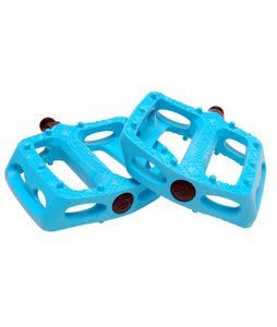 Eastern Crown Plastic Bike Pedal Opaque Hot Blue