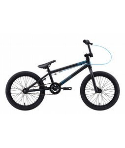 Eastern Lowdown 118 BMX Bike Matte Black w/ Black Rims 18in