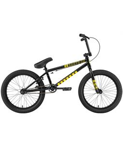 Eastern Lowdown 20 BMX Bike Gloss Black w/ Black Rims 20in