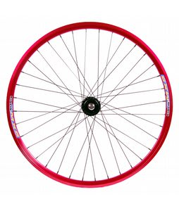 Eastern Lurker Rear Wheel Red 700C