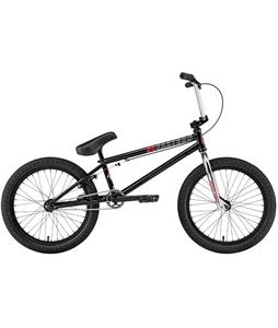 Eastern Nightwasp BMX Bike Gloss Black w/ Black Rims 20in