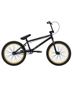 Eastern Nightwasp BMX Bike Matte Black w/ Gold Rims 20in