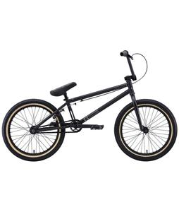 Eastern Phantom BMX Bike Matte Black w/ Black Rims 20